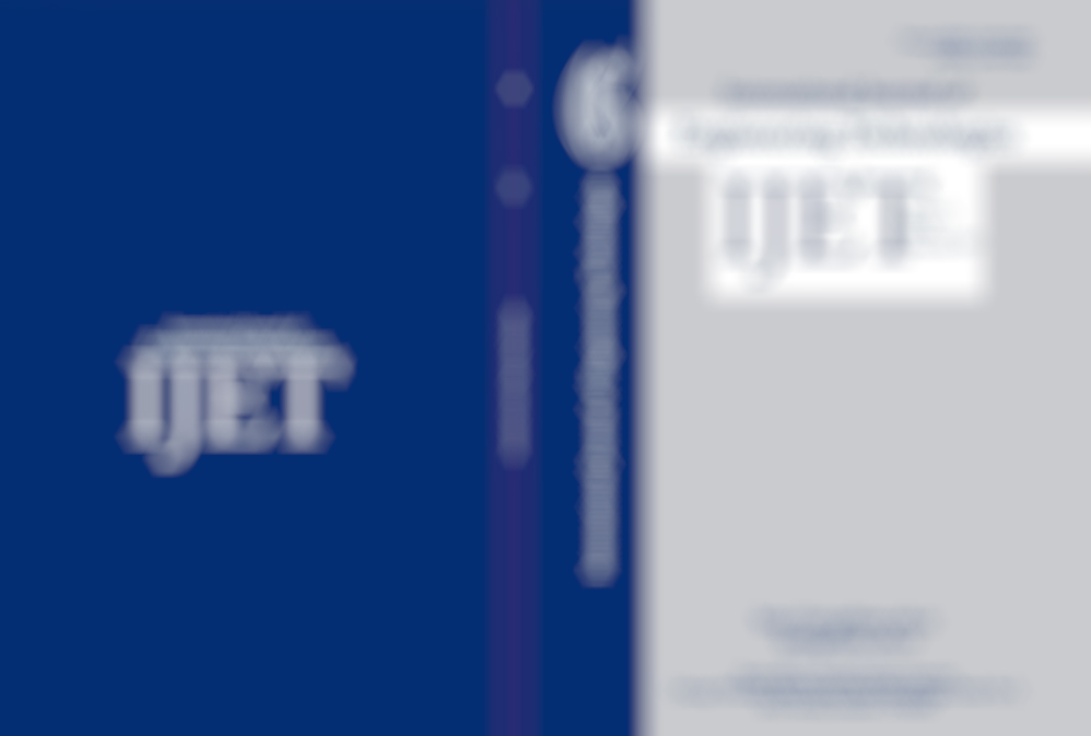 IJET Journal New Issue (December 2017)  Has Been Published!