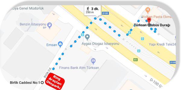 İstanbul Gelişim Meslek Yüksekokulu Otobüsle Ulaşım Fatih Avcılar Yönü