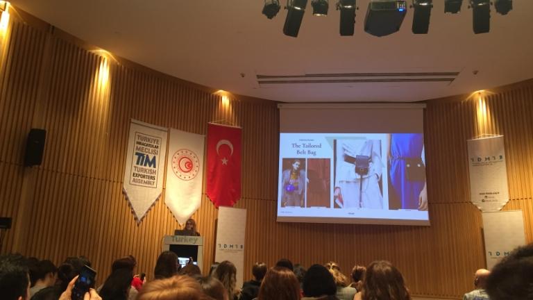 Moda Tasarımı Programı,2019  Deri Trend semineri