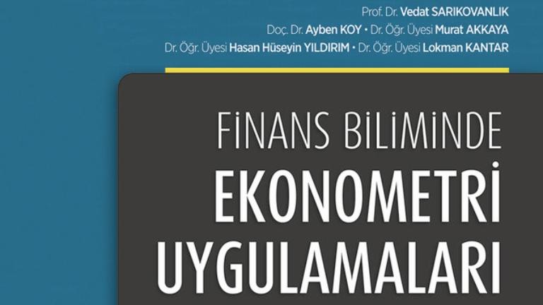 Finans Biliminde Ekonometri Uygulamaları