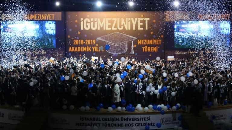 İstanbul Gelişim Üniversitesi ( IGU ) mezuniyet Enes Kalyoncu