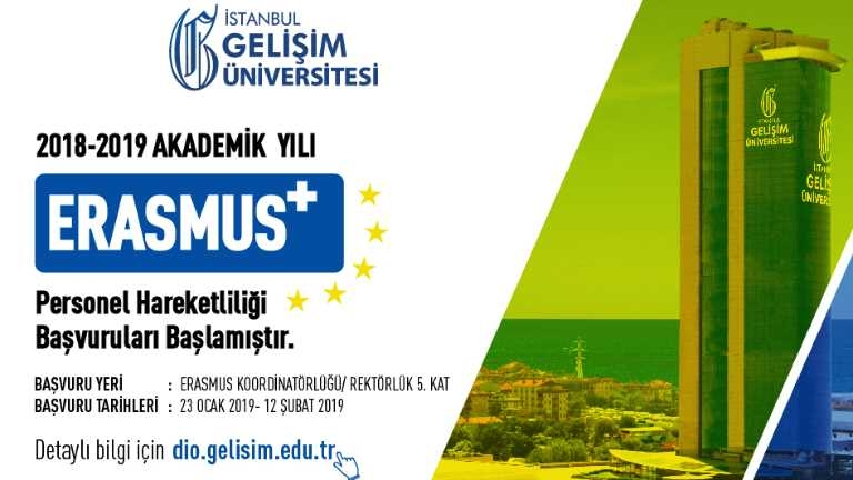 Erasmus+ Personel Hareketliliği