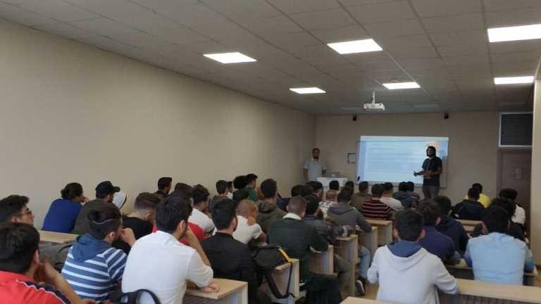 Elektrik ve Elektronik Teknolojisi Programları öğrenci oryantasyon eğitimi