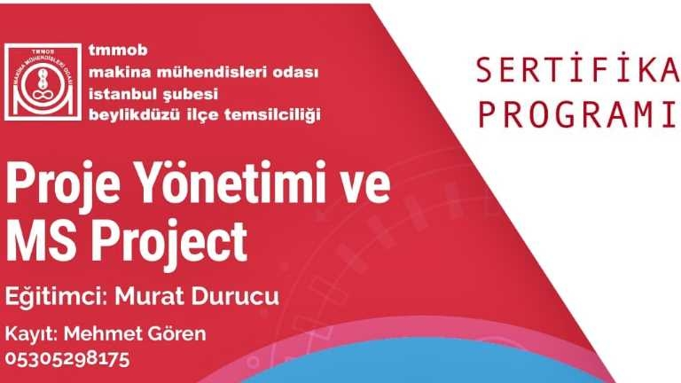 İGÜ_END_MÜH_MS Project Eğitimi_haberresmi