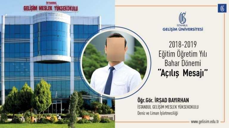 İstanbul Gelişim Üniversitesi (İGÜ) İstanbul Gelişim Meslek Yüksekokulu (MYO)