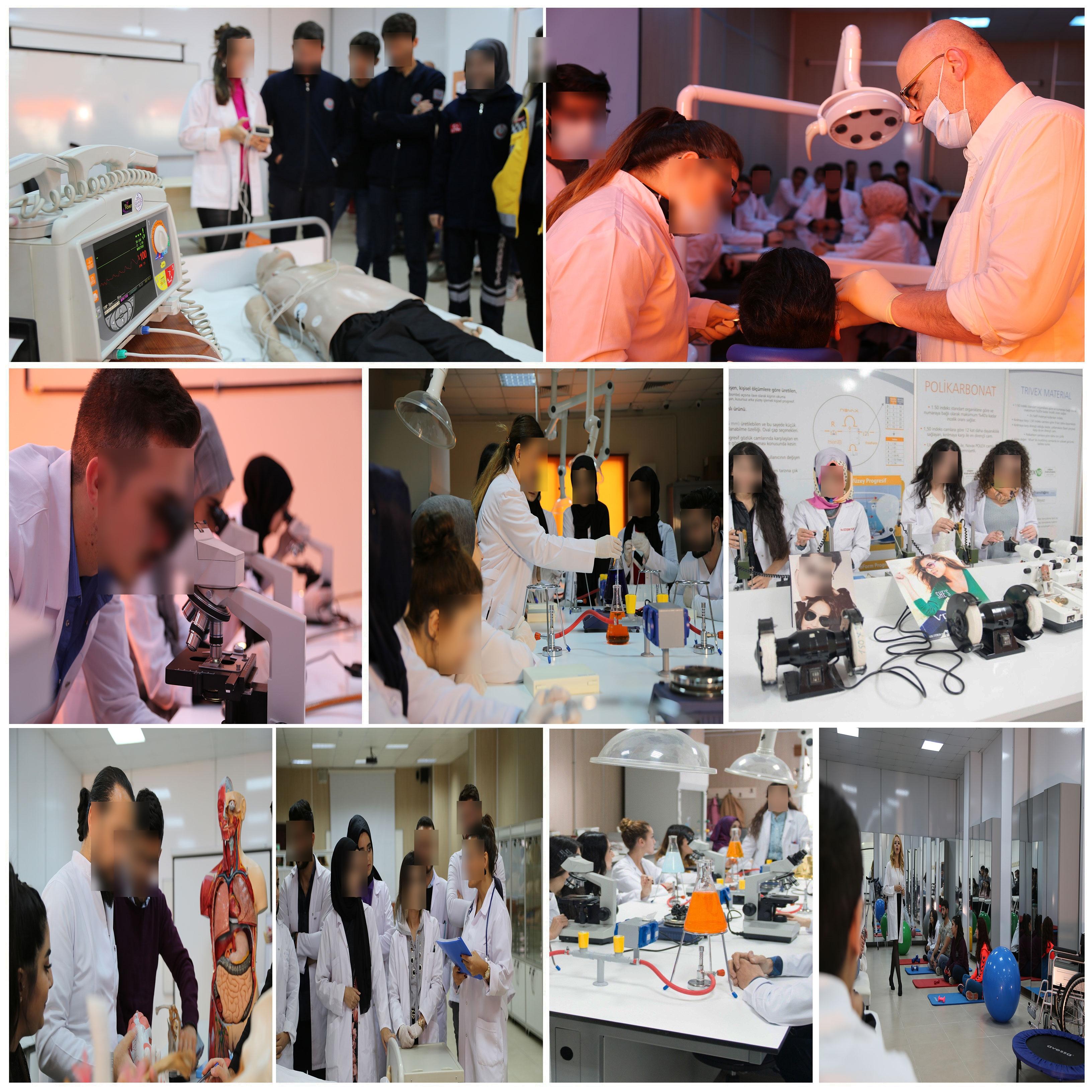İstanbul Gelişim Üniversitesi Laboratuvarları