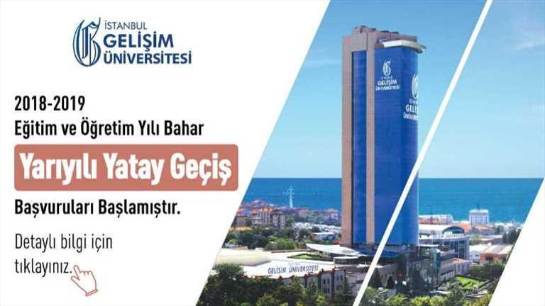 Istanbul Gelişim University - Lateral Transfer Applications Started
