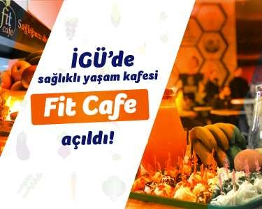 Üniversite öğrencilerinden sağlıklı yaşam kafesi Fit Cafe