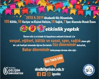 İstanbul Gelişim Üniversitesi SKS Etkinlikleri