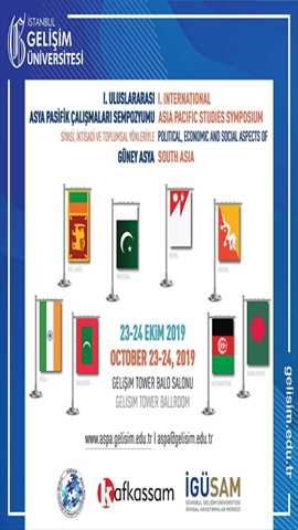 I. Uluslararası Asya Pasifik Çalışmaları Sempozyumu