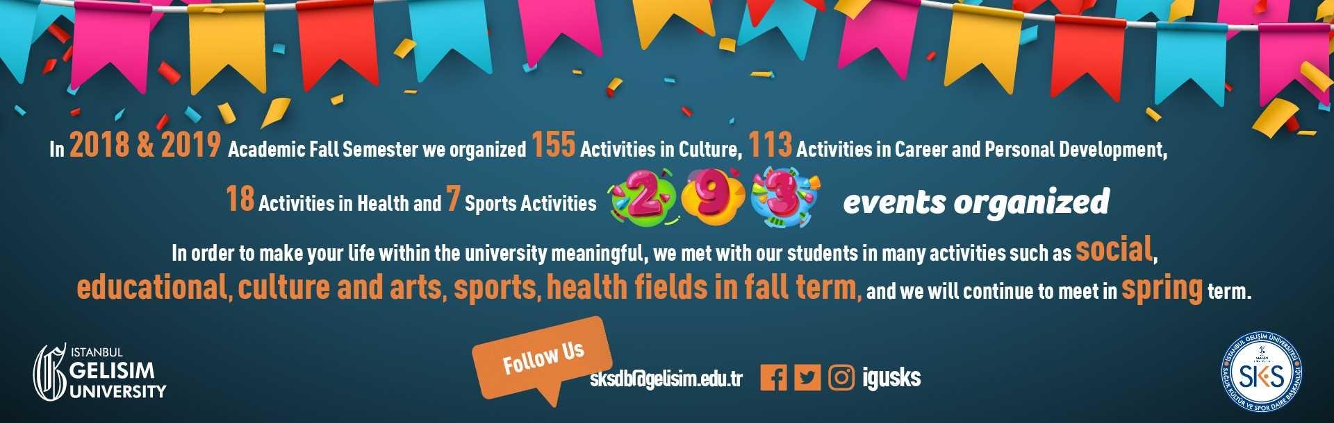 İstanbul Gelisim University SKS Activities
