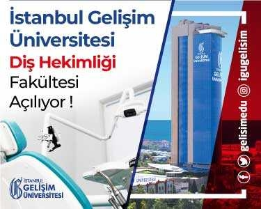 İstanbul Gelişim Üniversitesi Diş Hekimliği Fakültesi kuruldu