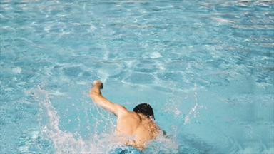 Attention to cramps during swimming