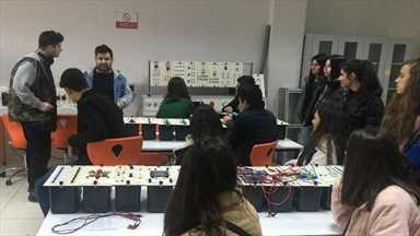 Students from Antalya visited IGU
