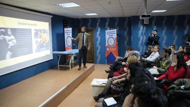 Uzman Fizyoterapist Turhan, manuel tedavi yöntemlerini anlattı