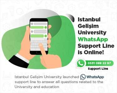 Istanbul Gelisim University Whatsapp