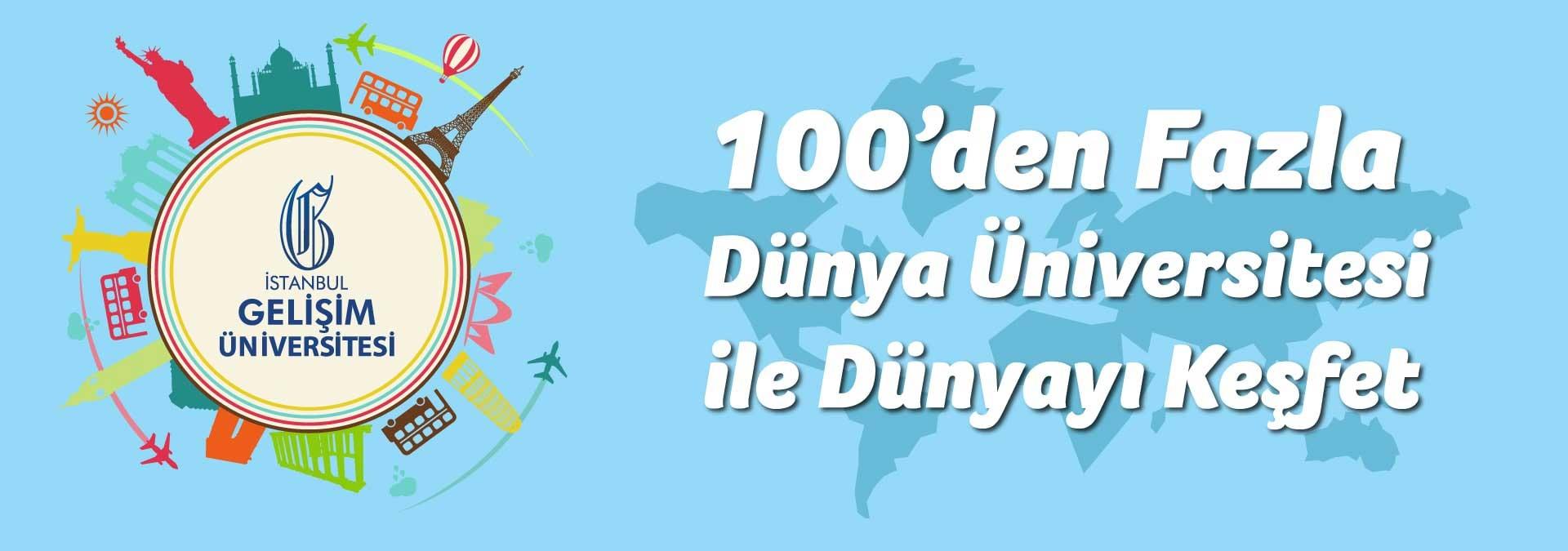 İstanbul Gelişim Üniversitesi'nden 100'den Fazla Dünya Üniversitesi ile İşbirliği