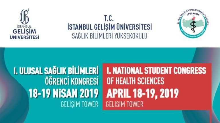 I. Ulusal Sağlık Bilimleri Öğrenci Kongresi