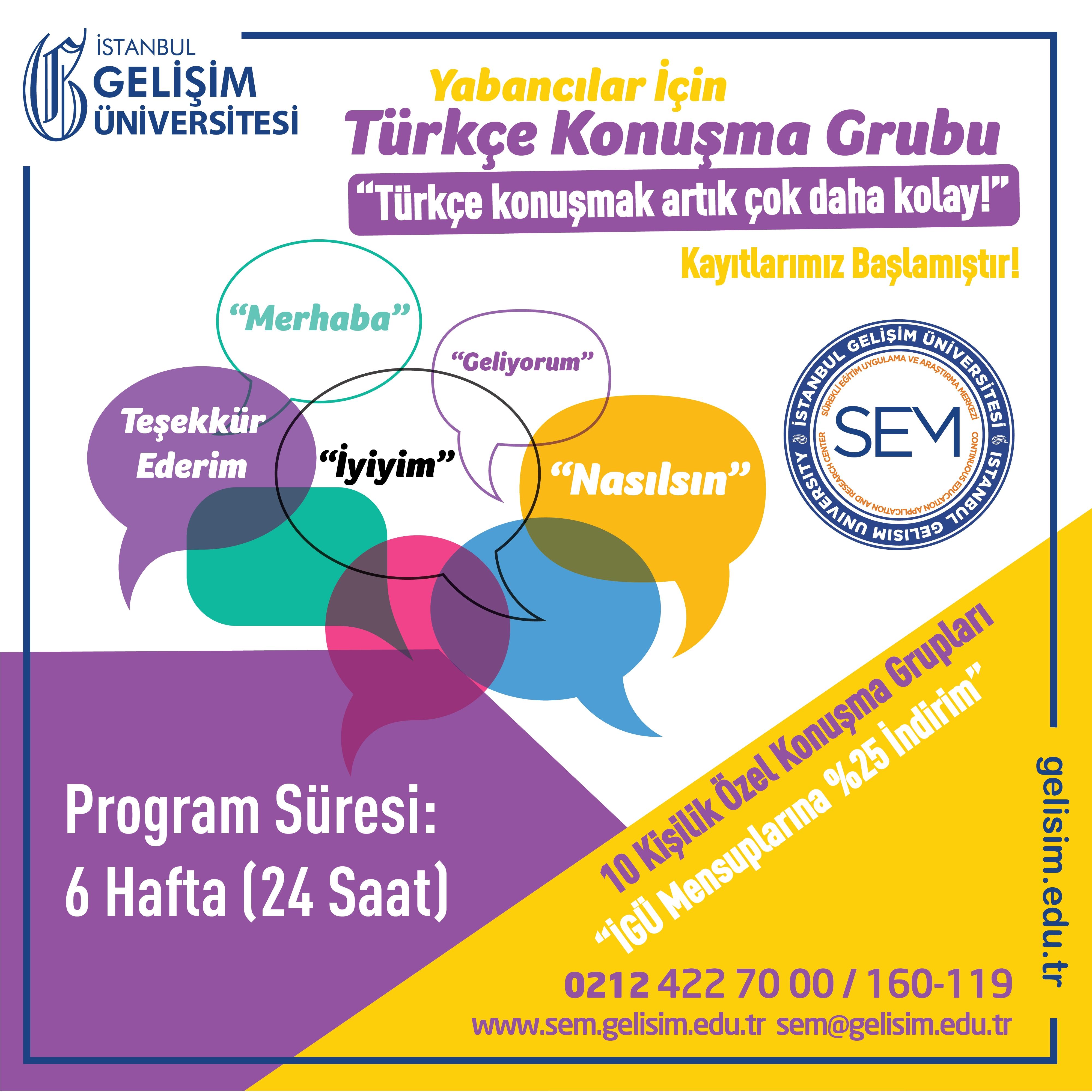türkçe konuşma kulübü