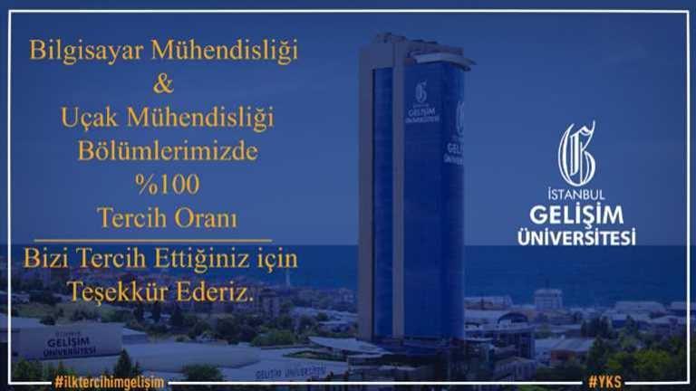 İstanbul Gelişim Üniversitesi Uçak Mühendisliği Tercih