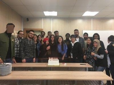 İGÜTÖMER Misafir Öğrenciler 24 Kasım Öğretmenler Gününü Kutladı.