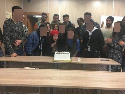İGÜTÖMER Misafir Öğrenciler 24 Kasım Öğretmenler Gününü Kutladı (1)