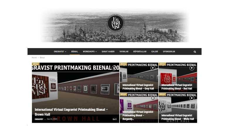 Uluslararası Sanal Engravist Baskıresim Bienal