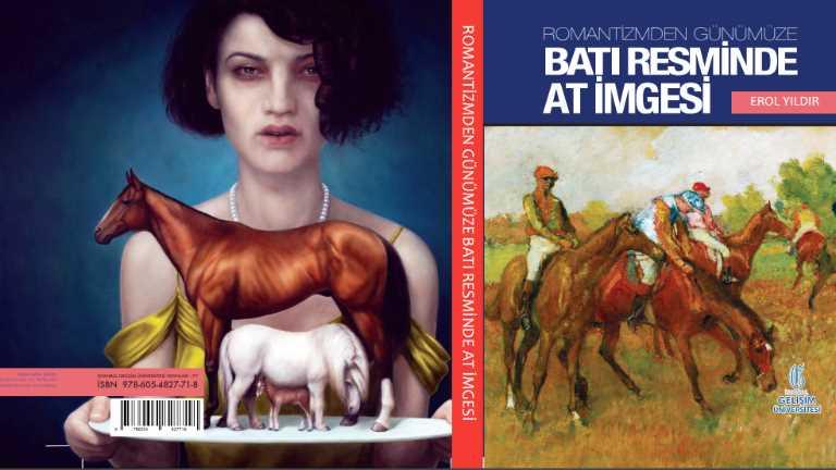 'Romantizmden Günümüze Batı Resminde At İmgesi' Kapak