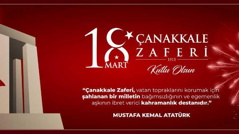 18 Mart Şehitleri Anma Günü ve Çanakkale Zaferi'nin 105'inci Yıl Dönümü