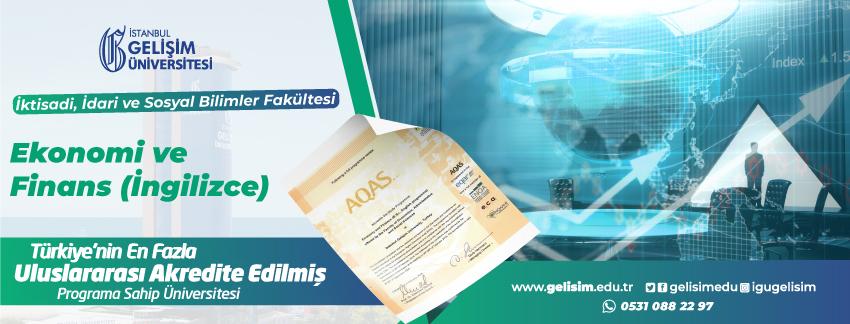 EKONOMİ VE FİNANS (İNGİLİZCE)  - Accreditation