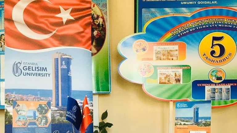 Özbekistan Lise Ziyaretleri