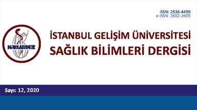 İstanbul Gelişim Üniversitesi Sağlık Bilimleri Dergisi Sayı 12