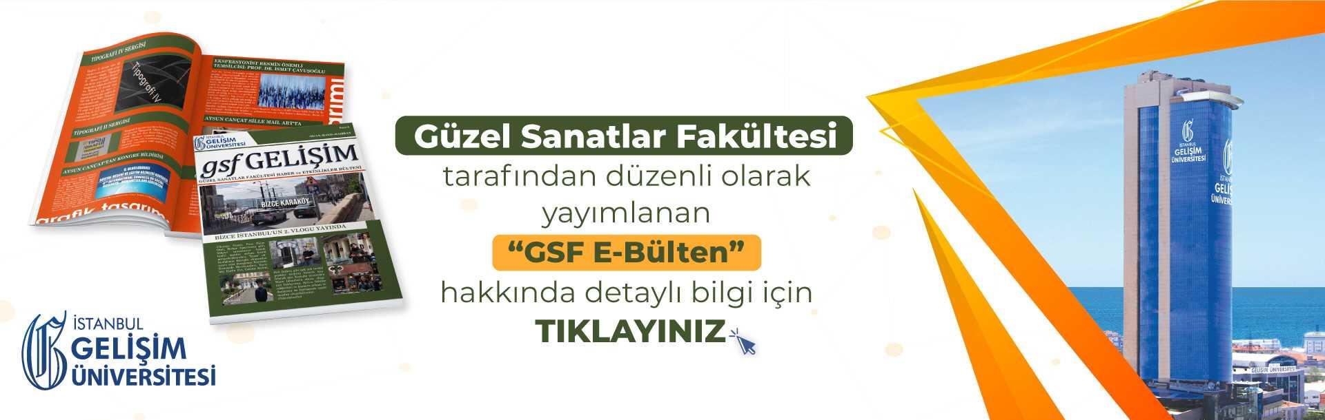 İGÜ GSF E-Bülten