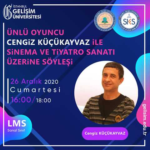Ünlü Oyuncu Cengiz Küçükayvaz ile Sinema ve Tiyatro Sanatı Üzerine Söyleşi