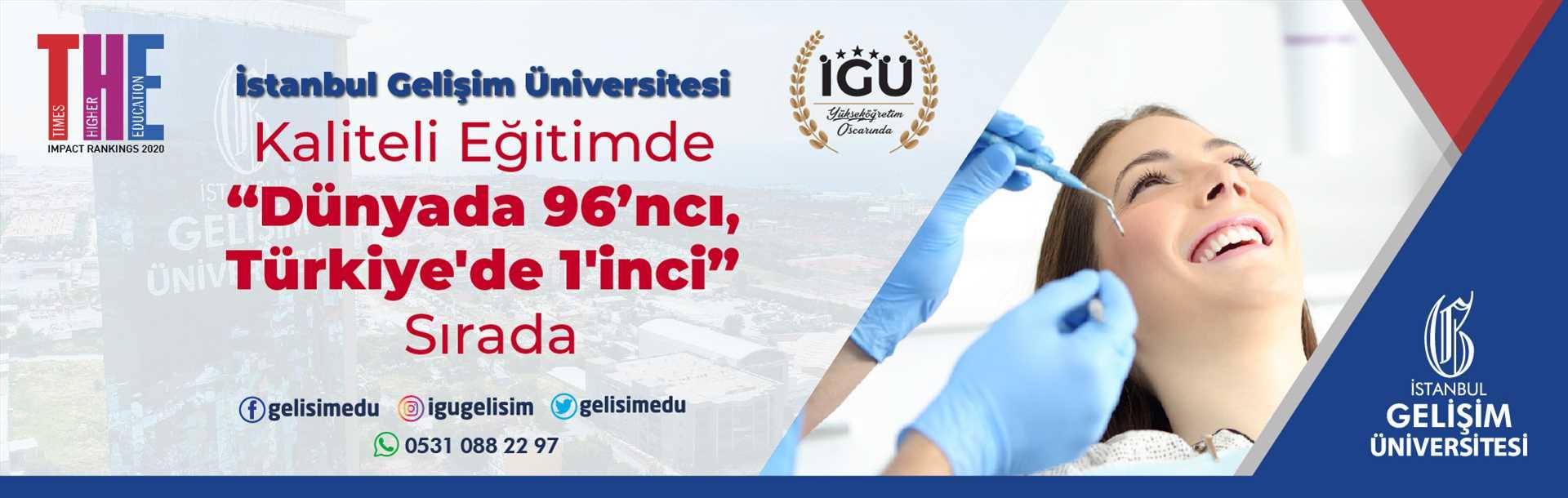 Diş Hekimliği Fakültesi - The Fakültesi - İstanbul Gelişim Üniversitesi