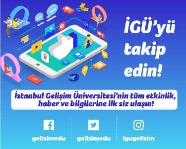 İstanbul Gelişim Üniversitesi Sosyal Medya Hesapları