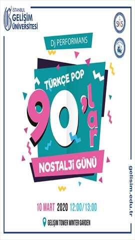 Türkçe Pop - 90'lar Nostalji Günü