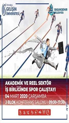 Akademik ve Reel Sektör İş Birliğinde Spor Çalıştayı