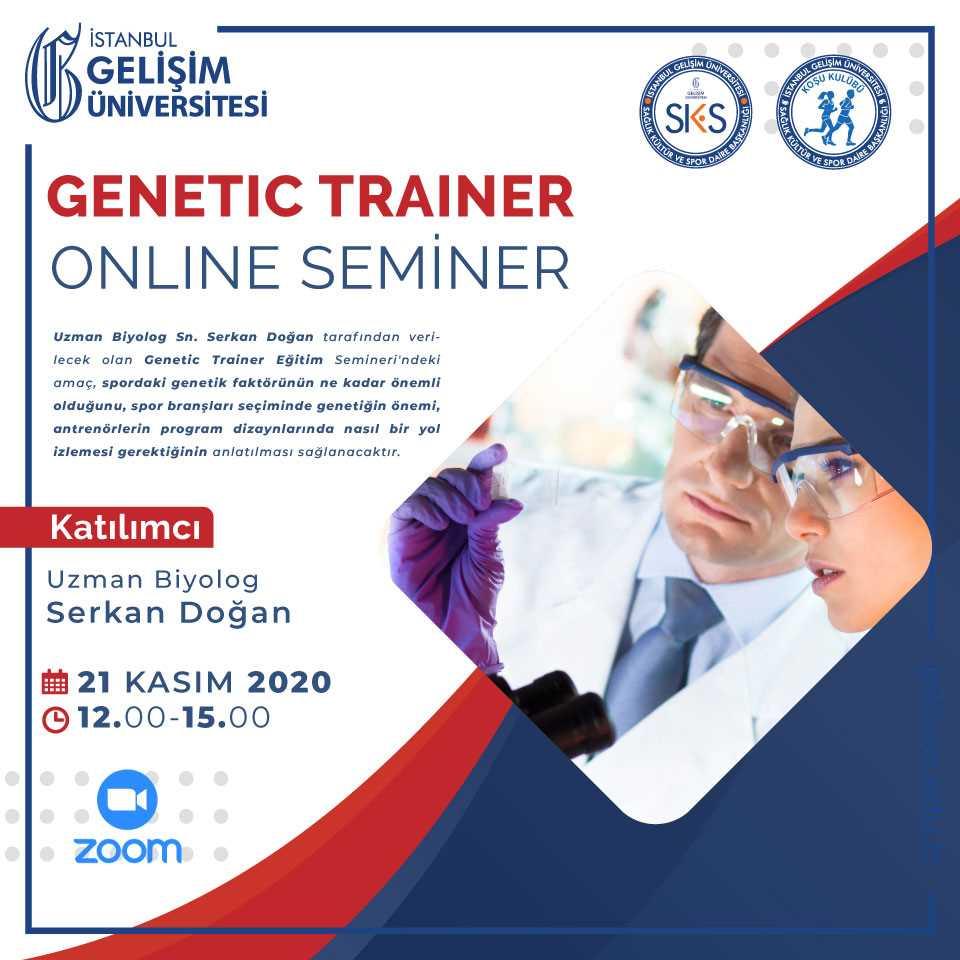 Genetic Trainer Online Seminer