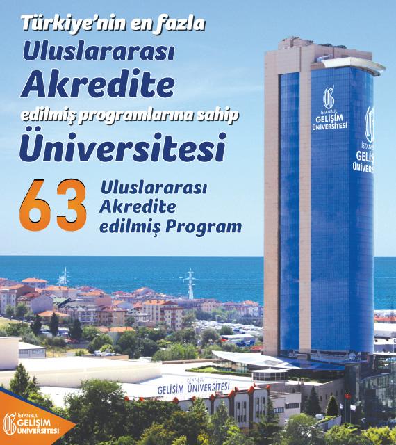 Türkiye'nin uluslararası akredite edilmiş en fazla programına sahip üniversitesi