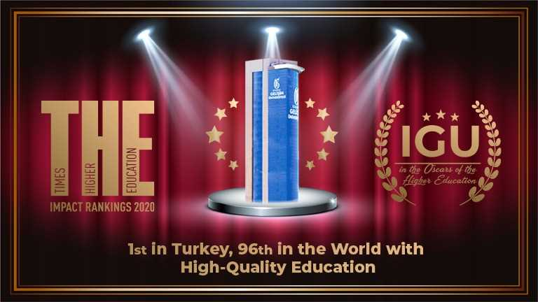 IGU is ranked 1st in Turkey and among the world's top 100 universities with high-quality education