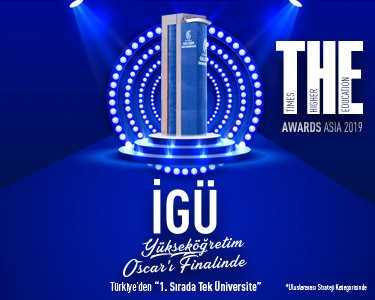 İstanbul Gelişim Üniversitesi Yükseköğretim Oscar'ı Finalinde
