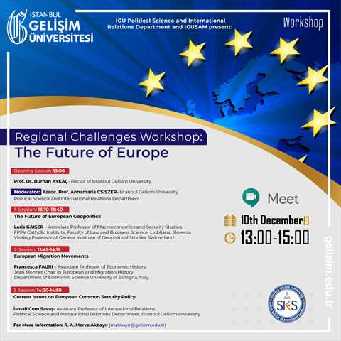 Regional Challenges Workshop: The Future of Europe
