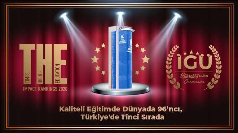 Eğitim kalitesi ile dünyada ilk 100'e girdi, Türkiye'de 1'inci oldu