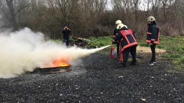 1'inci Seviye Yangın Eğitici Eğitimi tamamlandı