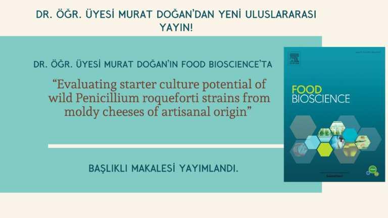 Dr. Öğr. Üyesi Murat Doğan