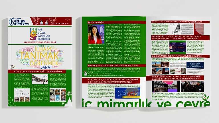 Güzel Sanatlar Fakültesi Haber ve Etkinlik Bülteni 6. Sayısı Yayımlandı