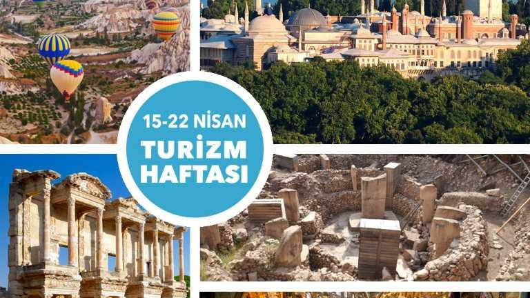 15-22 Nisan Dünya Turizm Haftası