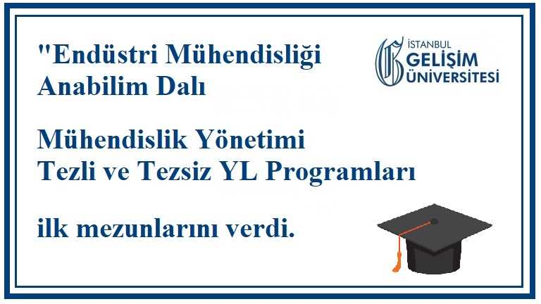 İGÜ_MHY_YL_ilk mezunlarını verdi