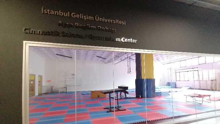 Dünya şampiyonunun ismi cimnastik salonuna verildi